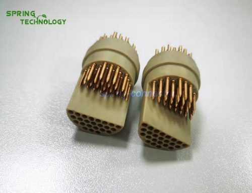 5S stepped insert 48pin for video-controlling system