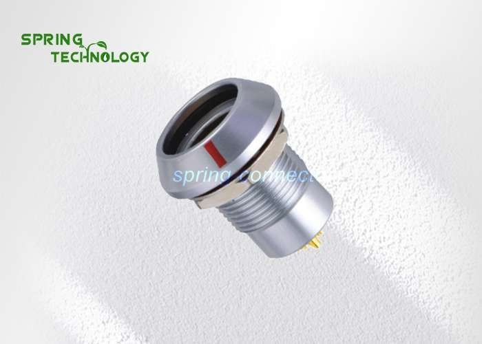 HHG.2B lemo compatible connector, nut fixing, key (G) or keys (A…M), (watertight when mated)