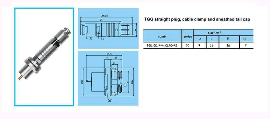 TGG.0C unipole coaxial push-pull self-latching connectors